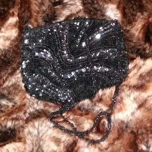 Andre' Cellini Multi Beaded Evening Bag